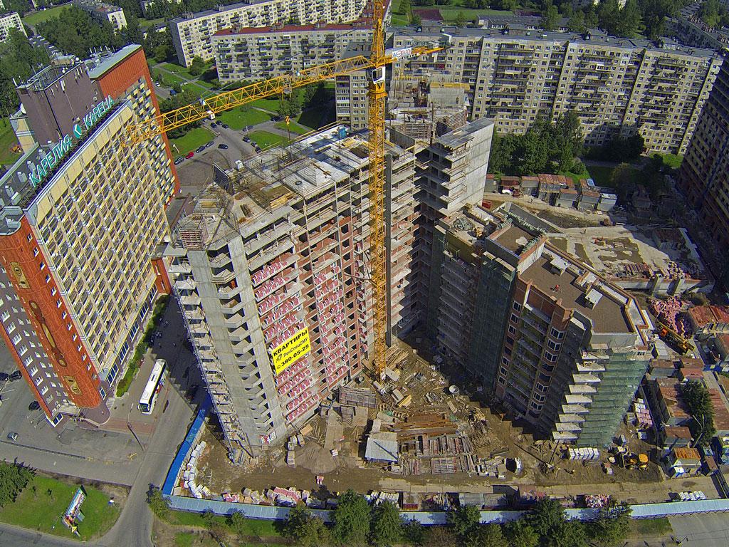 аренда башенного крана спб, аренда башенного крана москва, аренда башенного крана санкт-петербург. объект тухачевского спб